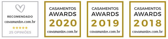 Premiações Banda Flypop no casamentos.com.br